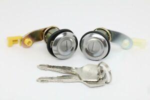 NEW Door Lock Set with Keys (RH & LH) for 86-91 Nissan Sentra