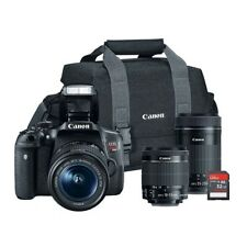Canon EOS Rebel T6i 24.2MP Digital SLR Bundle 821837