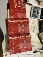 2007 Ford Edge Lincoln MKX Service Shop Workshop Repair Manual Set OEM W EWD