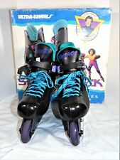 Vintage In-Line Rollerblade Wayne Gretzky Sz 7 Ultra Wheel Skate Attack Mirage