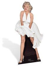 SC-279 Marilyn Monroe White Dress Pappaufsteller Kinoaufsteller Figur Lebensgroß