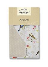 """""""COOKSMART APRON"""" Dawn Chorus Bird kitchen Wear Cloth Wipe Clean 100 % Cotton"""