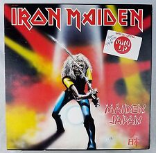 Iron Maiden Maiden Japan NM Vinyl TESTED MLP 15000 Mini LP EP RARE Wally 1981