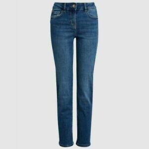 Ladies Next PETITE Slim Jeans Blue Sizes 6 - 18