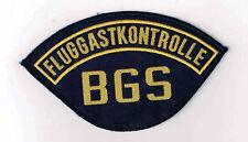 BGS  --  Fluggastkontrolle  --  gewebt  --