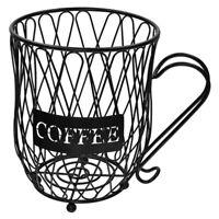 1X(Coffee Pod Holder Organizer Mug Cup Keeper Coffee & Espresso Pod Holder  S6G2