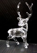 Stag 2015 Xmas Crystal Reindeer Deer Christmas Holiday 2015 Swarovski #5135854