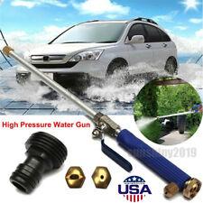 High Pressure Power Washer New Hydro Jet Water Spray Gun Nozzle Wand Attachment