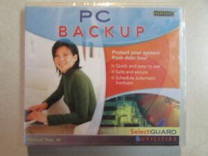 PC BACKUP SELECT SOFT UTILITIES SELECT GUARD PROTECTION WINDOWS VISTA, XP NEW