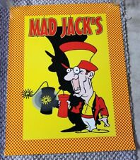Mad Jack's Fireworks Promo Poster 4th of July Firecracker Promotional