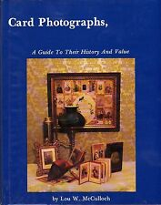 Card Photographs: A Guide to Their History & Value, New Book! $0 Ship!
