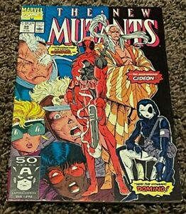 NEW MUTANTS #98 FIRST DEADPOOL 1ST DOMINO HIGH GRADE GLOSSY COVERS