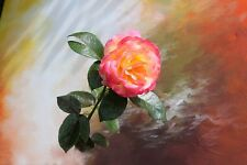 """perfect 36x24 oil painting handpainted on canvas """"flower"""" NO7380"""
