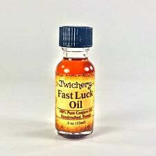 FAST LUCK OIL with Dragon's Blood, Love Money Luck Spell Magic Handmade Hoodoo