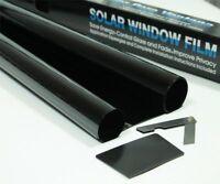 Ultra Super Dark schwarz USDB 1 % Auto Scheibentönung Rolle 3m 75cm Folie Tönung