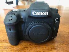 Canon EOS 7D Mark II with Canon BG-E16 Battery Grip