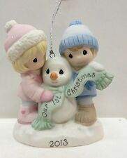 Precious Moments 2013 Our 1st Christmas Together Ornament