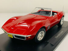 Chevrolet Corvette Convertible Année 1969 Rouge 1 18 NOREV