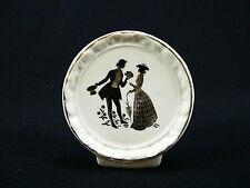 Porzellanaufsteller mit romantischem Paar aus England