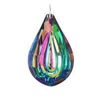 76mm Rainbow Crystal Suncatcher Chandelier Lamp Prism Hanging Pendant Home Decor