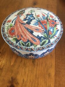 Covered Dish Peacock