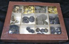 Lot of 61 Civil War to WWII Military Buttons 13 Different Ones