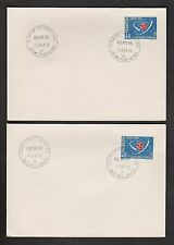 Briefmarken aus der Schweiz (ab 1945) mit Sonderstempel