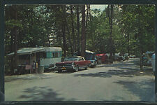 KY Corbin CHROME 50's CUMBERLAND FALLS STATE PARK Trailer Tent Camping by Dexter