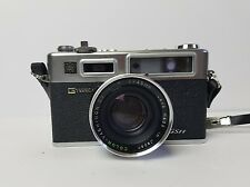 "Yashica ELECTRO 35 GSN Rangefinder ""SPIDERMAN"" Camera COLOR-YASHINON 1:1.7 LENS"