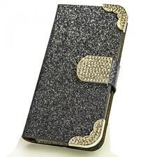 Handy Tasche Samsung Galaxy S5 Sm-g900f grau Schutz hülle Cover Etui Case M215