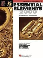 Essential Elements 2000: Book 2 (Eb Baritone Saxophone) by Various
