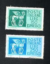 IPZS140# ITALIA - ESPRESSI L. 150 - L. 250 - Coppia di cavalli alati -  Usato