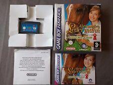 ALEXANDRA LEDERMANN AVENTURES AU GALOP pour Nintendo Gameboy Advance AGB P BYPX