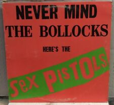 Never Mind The Bollocks Here's The Sex Pistols Record BSK3147