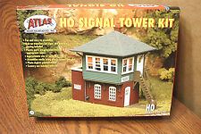 ATLAS HO SCALE SIGNAL TOWER BUILDING KIT