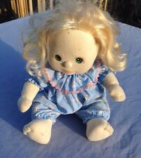 My Child Doll Blonde Hair Green Eyes Mattel 1985