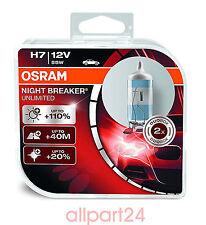 OSRAM 64210NBU-HCB H7 NIGHT BREAKER® UNLIMITED 2er-Box DUO Box NEU&OVP