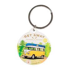 VW Camper Van Keyring Volkswagen Merchandise Gift 4cm Car House Key Ring Chain