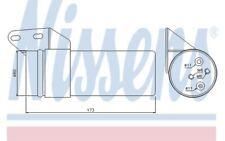 NISSENS Filtro deshidratante, aire acondicionado PEUGEOT RENAULT DACIA 95476