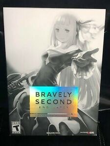 Bravely Second: End Layer -- Collector's Edition (Nintendo 3DS, 2016) NEW