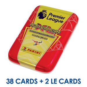 2019-20 PANINI ADRENALYN PREMIER LEAGUE POCKET TIN 6 PACKS+ 2 LE TOTAL 38 CARDS