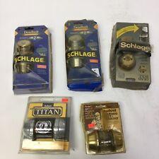 Mix Lot Kwikset / Schlage Deadlock Deadblolt Locks Old Stock As Is