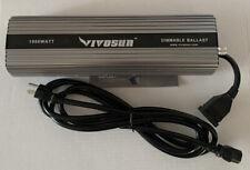 VIVOSUN 1000 Watt Dimmable Electronic Ballast for Grow Light HPS MH Bulb #E