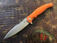 "Russian Tactical EDC Folding knife ""Voyage"" Reptilian knives (D2 steel)"