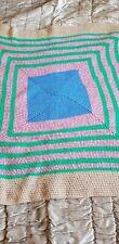Crochet Blanket Multi-colour