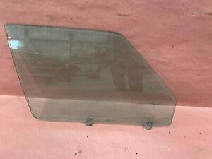 Factory Right Front Passenger Window Glass (1982-1988) BMW E28 528e OEM #87168