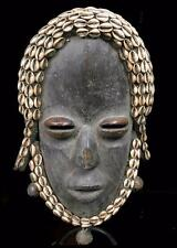 Old Tribal Dan Deangle Mask With Real Bells  - Coted'Ivoire  BN 8