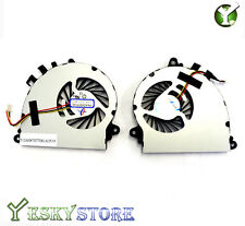 New CPU Cooling fan MSI GS70 MS-1771 PAAD06015SL N184 N229 N346 N269 N197 A Pair