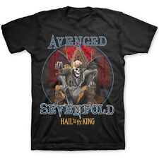 Avenged Sevenfold Hail to the King A7X Official Tee T-Shirt Mens Unisex
