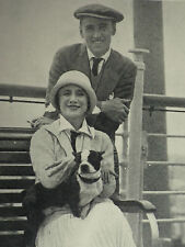 Anna Pavlova Laurent Novikoff Aboard SS Leviathan 1925 Page Photo Article 7082